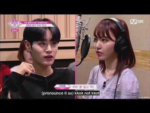 [ENG] Produce48 EP10- WannaOne Daehwi-PD Cuts