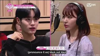 [ENG] produce48 EP10- WannaOne Daehwi-PD cuts