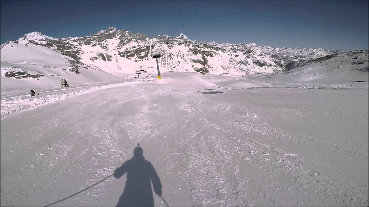 Alex skiing in sauze d'oulx - april 2016