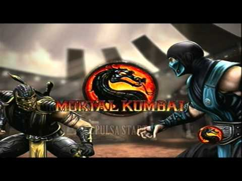 Mortal Kombat Xbox 360 Gameplay Youtube