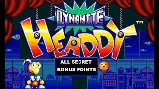 [Eng] Dynamite Headdy - Full Walkthrough (All Secret Points) [1080p60][EPX+]