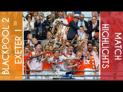 Highlights | Blackpool 2 Exeter 1