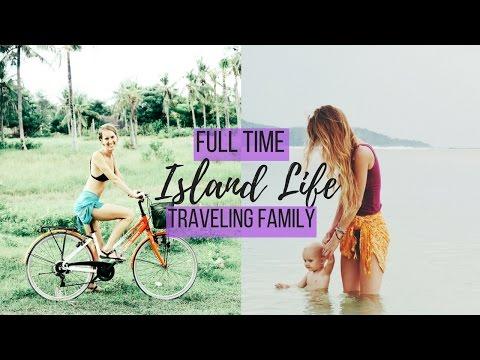 FAMILY TRAVEL VLOG INDONESIA // TROPICAL ISLAND LIFE