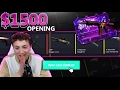 HellCase $1500 Opening! 8X Diamond Cases and Trade ups!