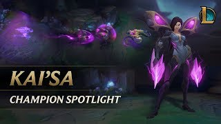 Kai'Sa Champion Spotlight | Gameplay - League of Legends (พากย์ไทย)