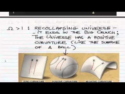 ASTR 1P02 CLIP 43: Cosmology Part 3 The Fate Of The Universe