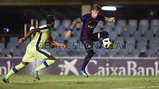 Carles Pérez vs. Bengaluru ● Barcelona B ● Pretemporada 2018/19