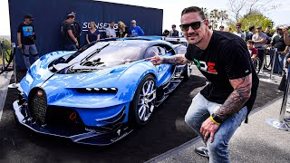 $8 MILLION BUGATTI VISION GT CAUSES CHAOS !! *Special Delivery* thumbnail