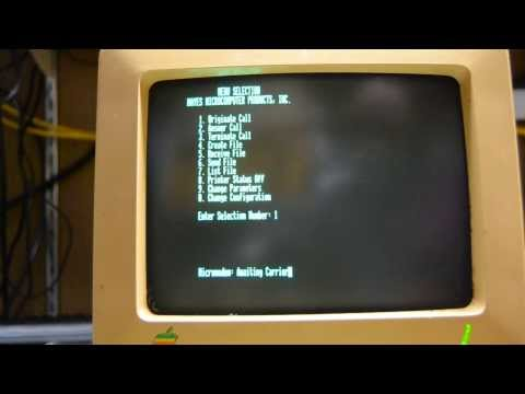 Apple II on a BBS in 2014!