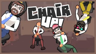 The boys are at it again. While the boss is away can they reach their sales quota for the day or will they just get in on some office chair hijinks?