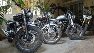 Honda Highness CB 350 Has An Achilles Heel And This Is Where Meteor 350 May Score: Suspension