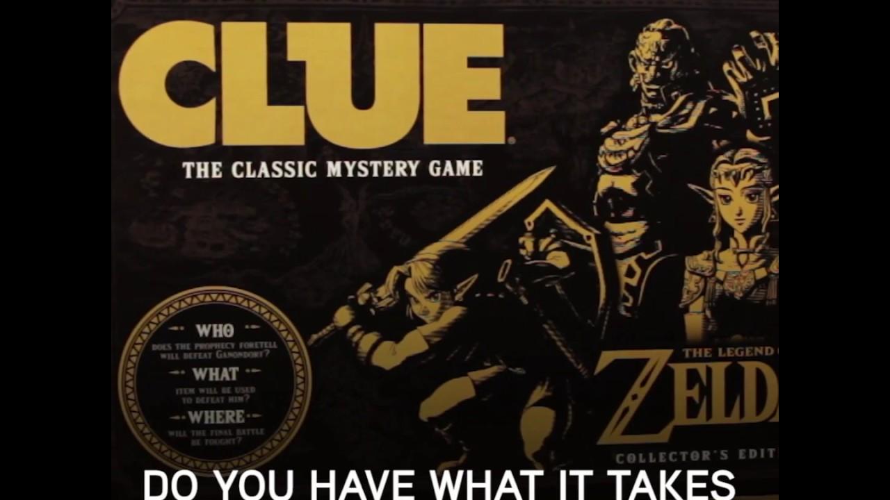 The Legend of Zelda Clue From ThinkGeek