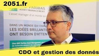 La gestion des données pour le CDO