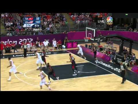 Kobe Reacts to Tunisian Player's Dunk