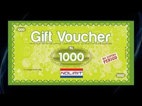 No Limit Gift Voucher Advertisement