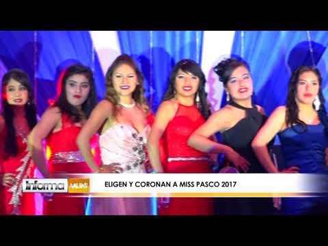 ELIGEN Y CORONAN A MISS PASCO 2017