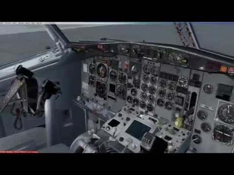 FSX CaptainSim Boeing 737-200F Northern Air Cargo [Complete Preflight] PANC-PAOM