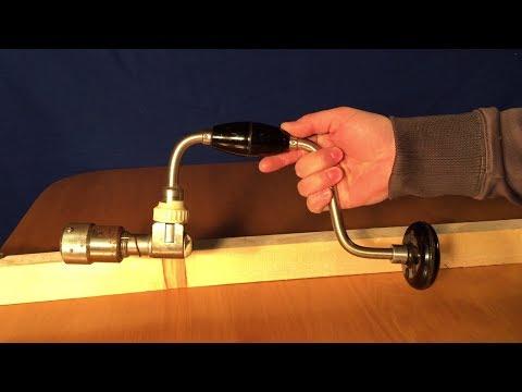 Как пользоваться ручной дрелью