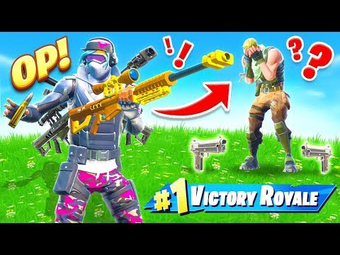 *NEW* HEAVY only CHALLENGE Game Mode in Fortnite Battle Royale