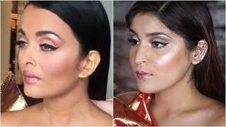 Aishwarya Rai Bachchan Cannes 2019 Makeup Tutorial   #RecreationWeek   Shreya Jain