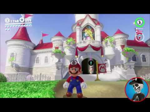 Super Mario Odyssey Guide Mushroom Kingdom Power Moon 44 Youtube