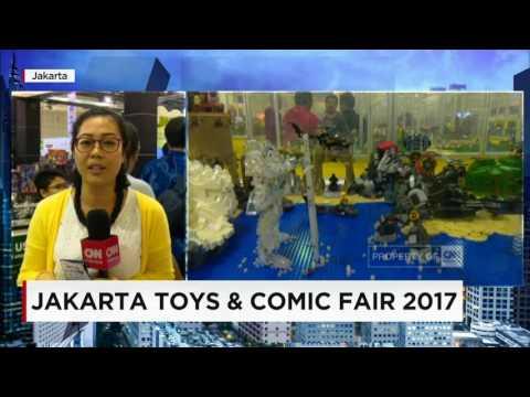 Diskon Besar - Besaran di Jakarta Toys & Comic Fair 2017