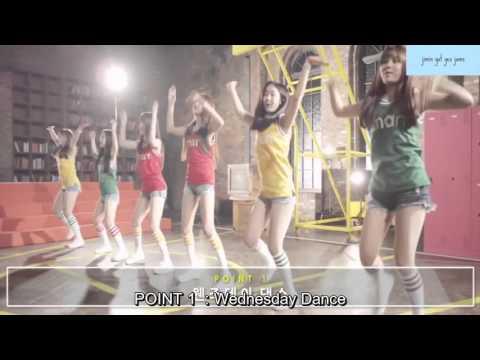 BTS X Gfriend Smart song Dance tutorial ENG SUBS