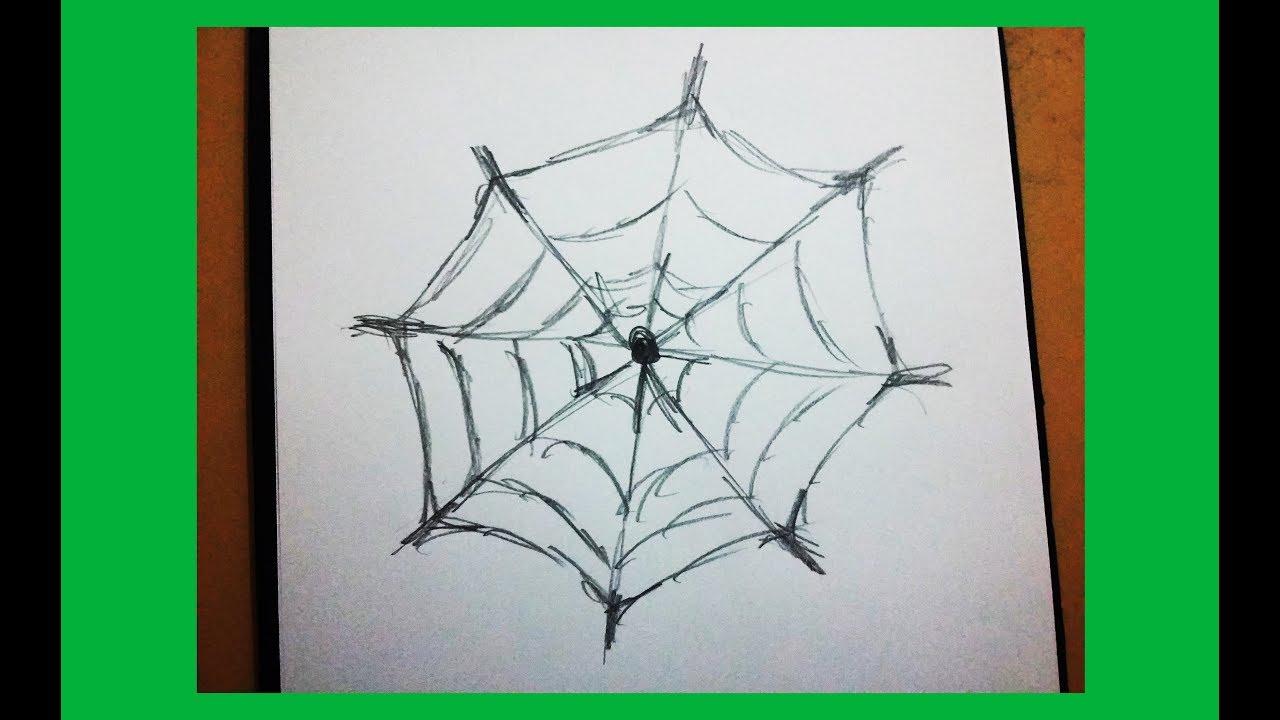örümcek Aği çizimi Cadilar Bayrami çizimi Youtube