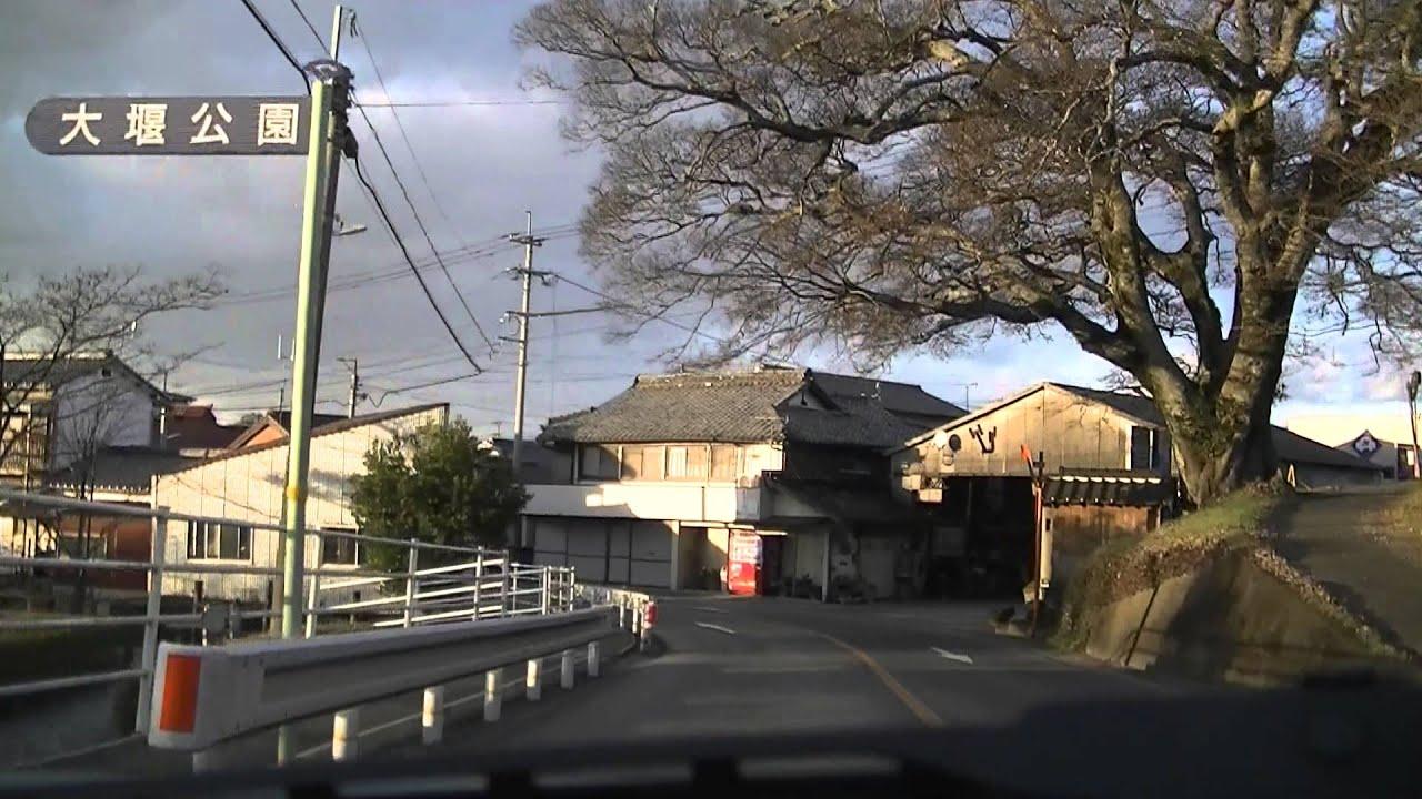 久留米市~三井郡大刀洗町~朝倉...