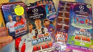 2019 UEFA Champions League Season 2018/19 Tin Box - Starter-pack - Multipack Topps MATCH ATTAX Cards