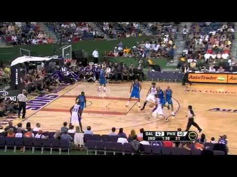 Mavericks vs Suns playing outdoor game recap nba summer leage 2010/2011