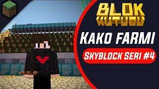 Blokkutusu Skyblock Seri #4 Kako Farmı 🌖