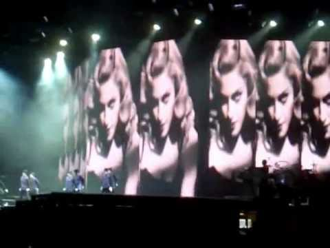 Madonna Justify My Love NYC Yankee Stadium MDNA Tour Sept 6 2012