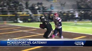 Gateway defeats McKeesport 14-7
