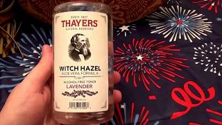 Thayers Witch Hazel Aloe Vera Formula Lavender.. CRUELTY FREE (REVIEW)