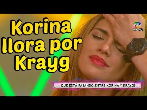 COMBATE: KORINA llora por culpa de KRAYG 01/10/14