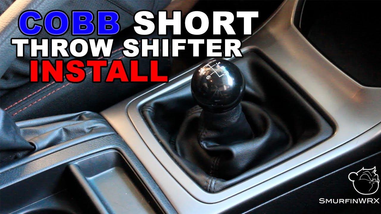 Cobb Subaru Short Throw Shifter Install Video Youtube