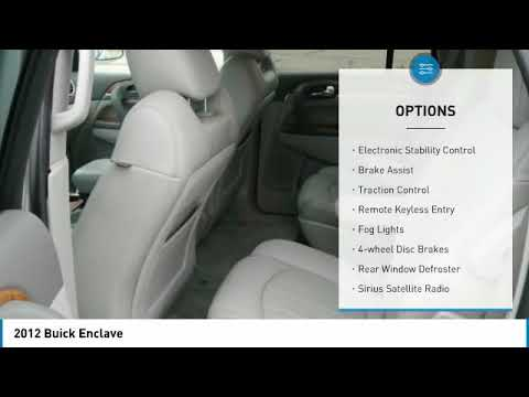 Mills Ford Willmar >> 2012 Buick Enclave 3i190014a