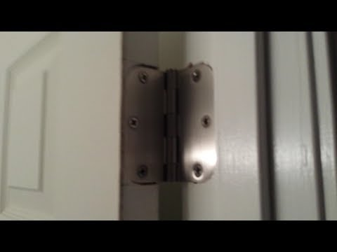 How To Cut Perfect Door Hinges