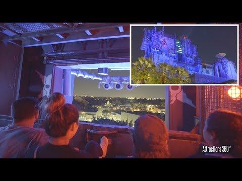 [4K] NEW Guardian of the Galaxy - Monsters After Dark Ride - Disney California Adventure