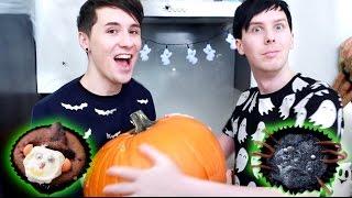 Halloween Baking - SPOOKY CUPCAKES thumbnail