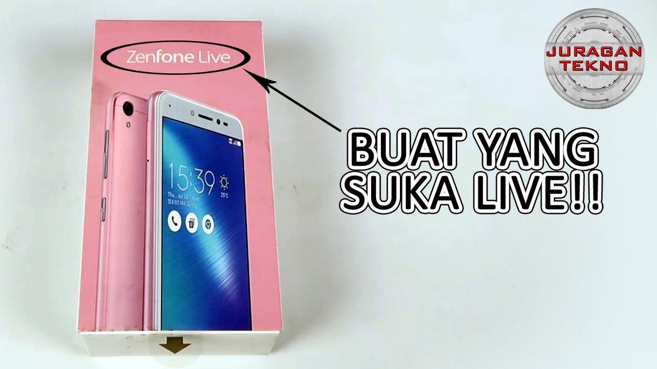 ASUS Zenfone LIVE Unboxing Indonesia