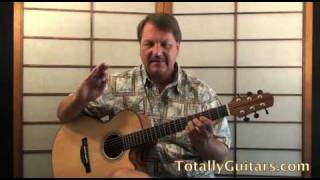 Rock And Roll Woman Acoustic Guitar Lesson - Stephen Stills
