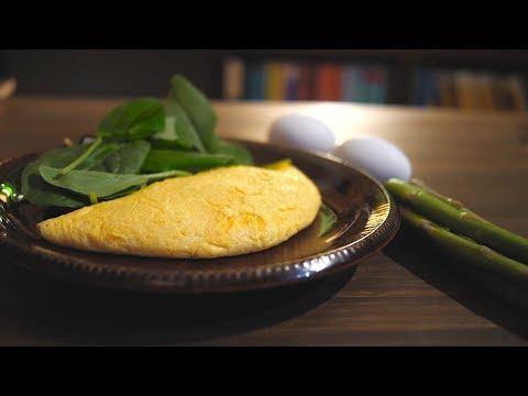 綺麗なオムレツを焼いてみる(How to make a beautiful omelette)