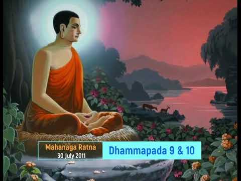 Dhammapada 10 Mahanaga Ratna in Marathi