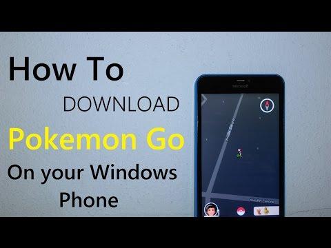 How To Download pokemon go on windows phone