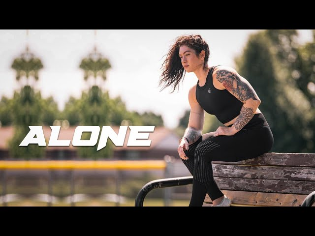 ALONE - Female Fitness Motivation 😔
