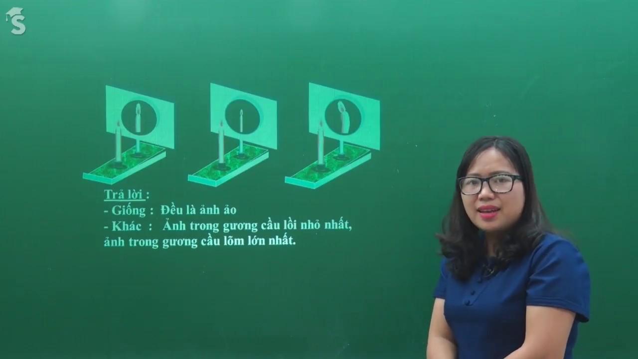 Ôn tập kiểm tra 1 tiết giữa học kỳ I vật lý 7 – Cô giáo Nguyễn Loan
