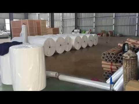 1.2 meter pp non woven fabric making machine