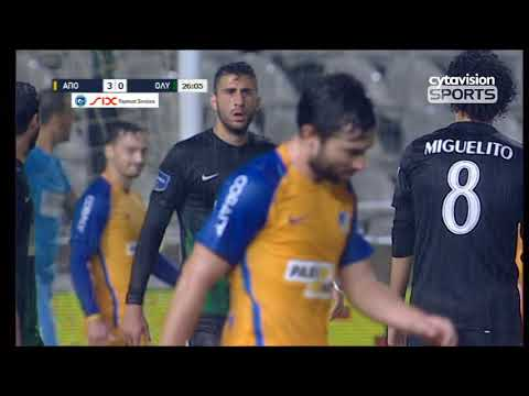 Βίντεο αγώνα: ΑΠΟΕΛ 6-1 Ολυμπιακός